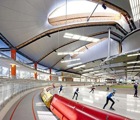 Speed-skating rink, Inzell